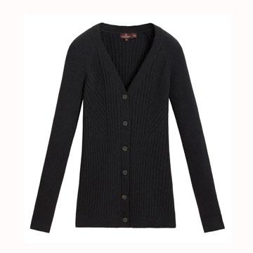 Mulberry 黑色毛衣开衫