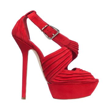 Dior迪奥红色高跟鞋