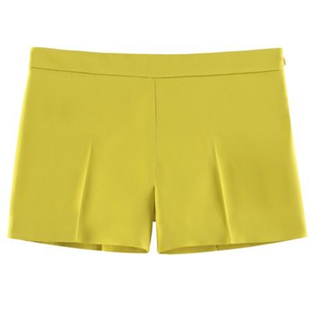 Gucci 2013春夏柠檬黄短裤