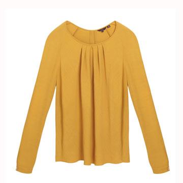 Mulberry 柠檬黄基本款上衣