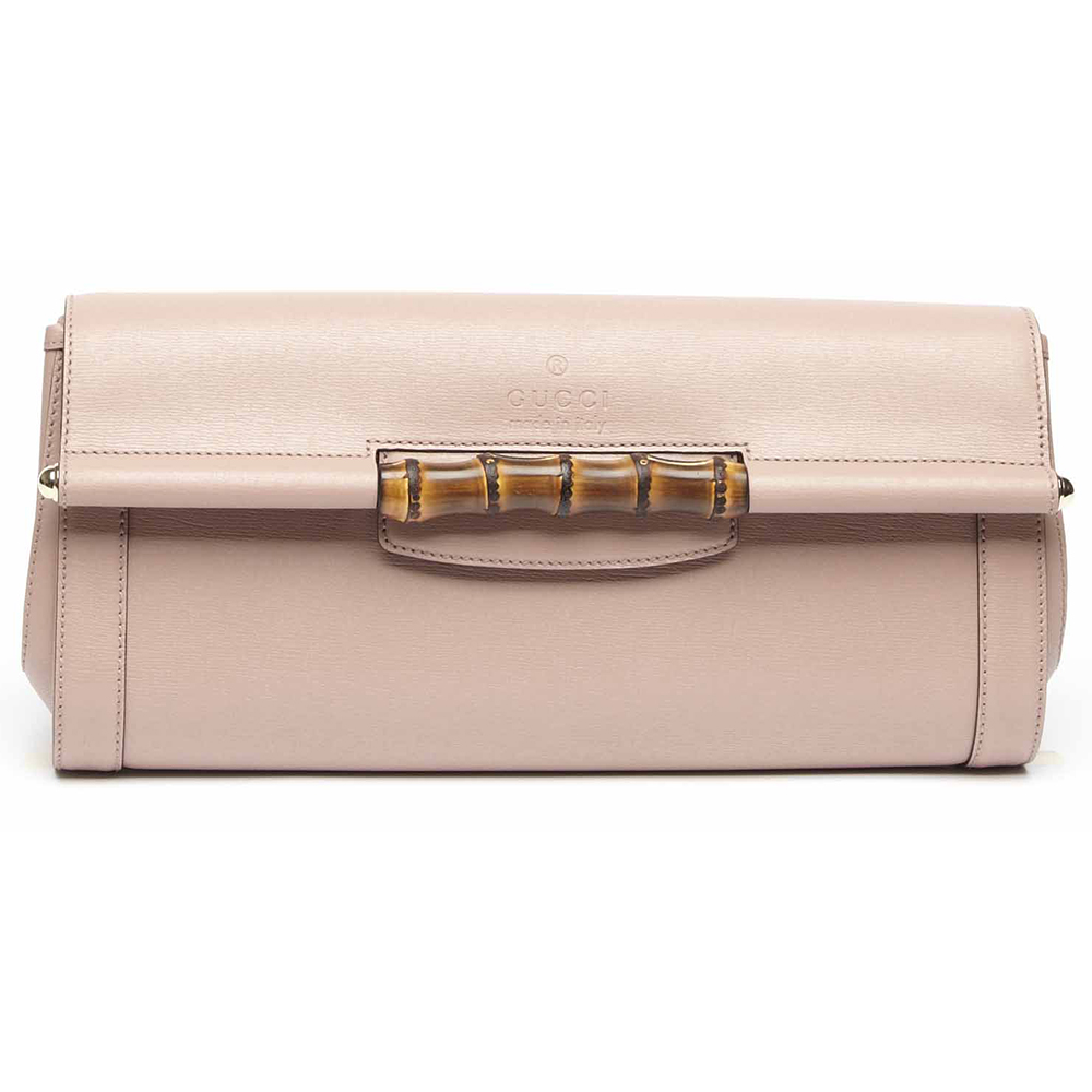 Gucci2014春夏白色皮质手拿包
