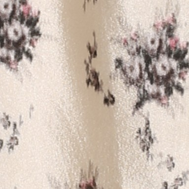 Louis Vuitton路易威登2013秋冬印花绸缎大衣