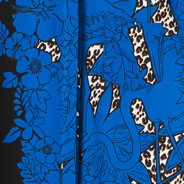Louis Vuitton 2013早春Cruise系列蓝色短袖衬衫