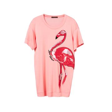 Louis Vuitton 2013早春Cruise系列粉色短袖T恤