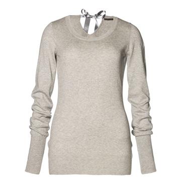 SISLEY 2013春夏灰色系带针织衫