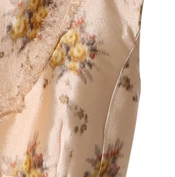 Louis Vuitton路易威登2013秋冬印花绸缎连衣裙