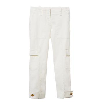 Louis Vuitton 2013早春Cruise系列白色口袋长裤