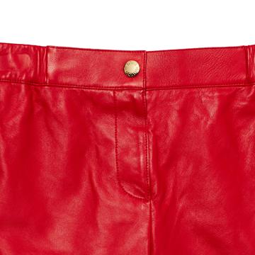 Louis Vuitton 2013早春Cruise系列红色短裤