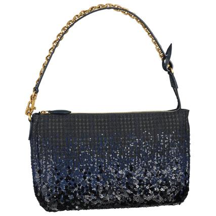 Louis Vuitton路易威登2013秋冬毛呢亮片单肩包