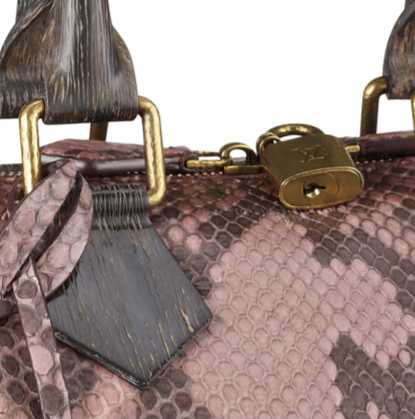 Louis Vuitton路易威登2013秋冬蛇纹手提肩背包
