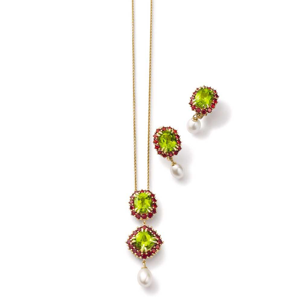 Dolce & Gabbana2014年高级珠宝 绿宝石两件套