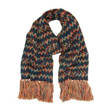 Mulberry民族印纹围巾