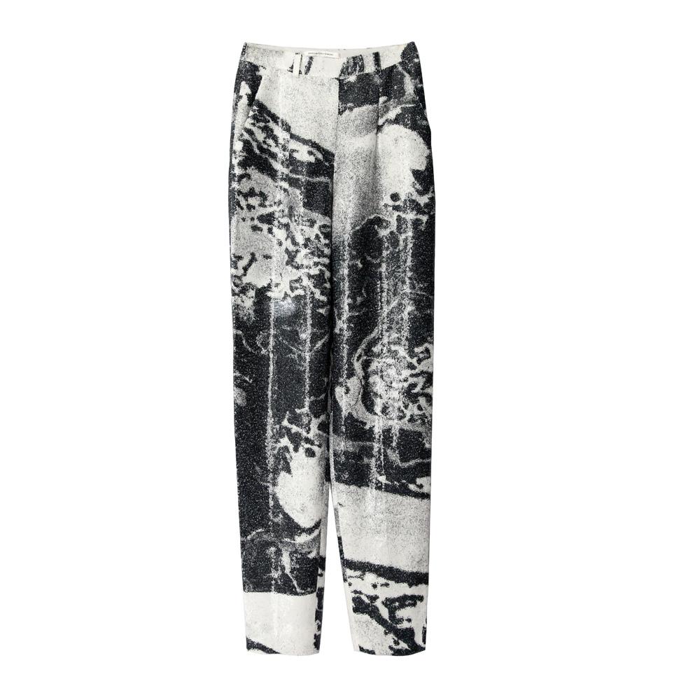 Diane von Furstenberg印花长裤