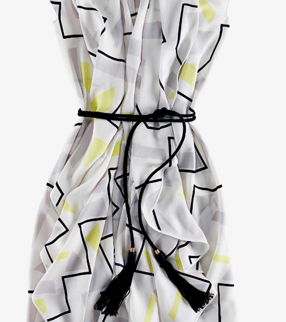 Diane von Furstenberg 束腰印花DAMIANA连衣裙