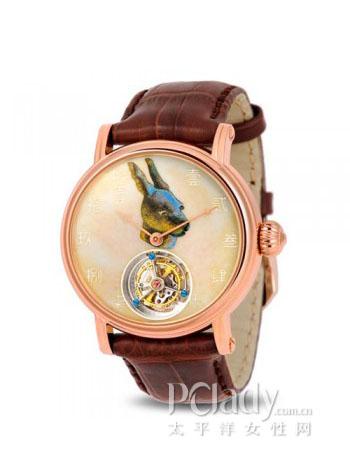 海鸥陀飞轮金表 H618.862(兔)