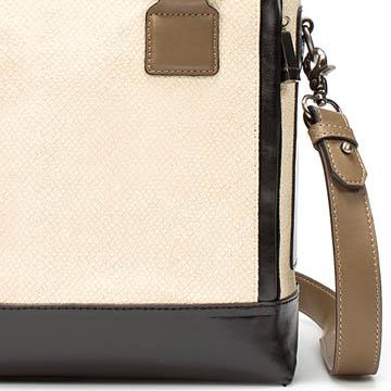 Zara 多色拼贴手提包