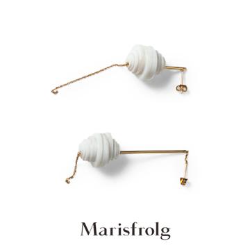 玛丝菲尔金属耳钉