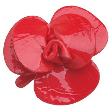 Evita Peroni 红色漆皮发饰