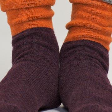 Marimekko 拼色针织长袜