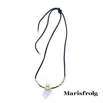 Marisfrolg玛丝菲尔不规则宝石吊坠
