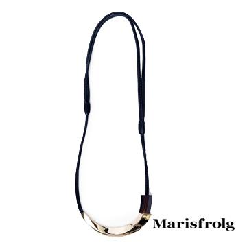 Marisfrolg玛丝菲尔金属质感项链