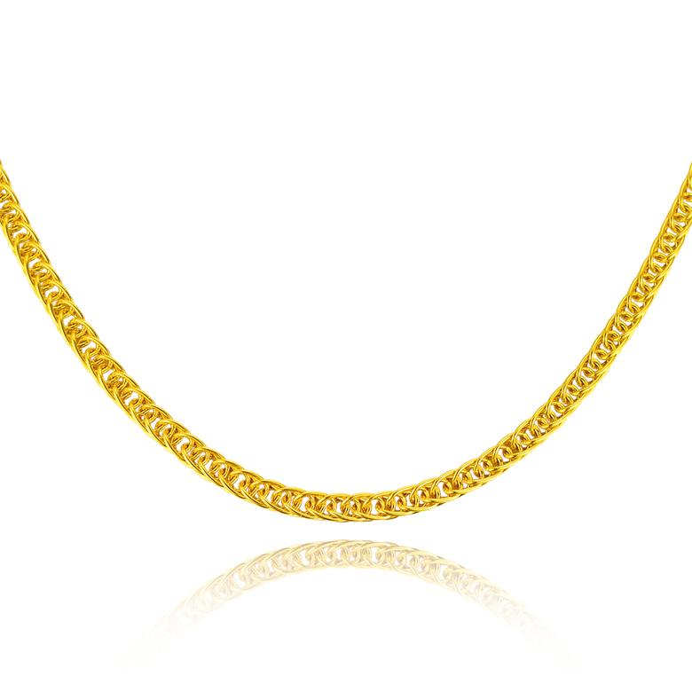 黄金项链 肖邦链 细款女士女款锁骨链