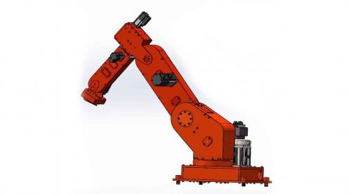 《【金牛3网上平台】工业机器人不用RV减速机,也不用谐波减速,国人创新的核心技术高精密无背隙》