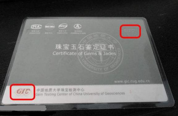 GIC证书查询